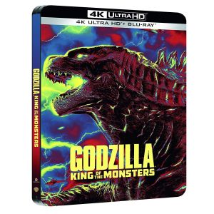 GODZILLA II: KING OF THE MONSTERS 4K+2D [Imported] Limited Edition Steelbook (4K UHD BLU-RAY + BLU-RAY)