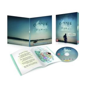 GONE GIRL DigiPack + Amazing Amy Book (BLU-RAY)