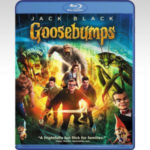 GOOSEBUMPS (BLU-RAY) ***SONY EXCLUSIVE***