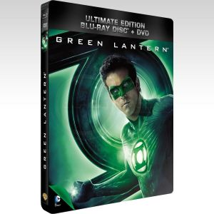 GREEN LANTERN Ultimate Edition Steelbook Combo [Imported] (BLU-RAY + DVD)
