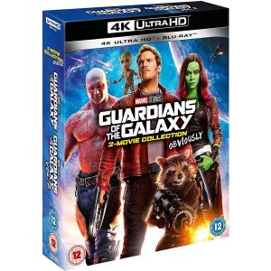 GUARDIANS OF THE GALAXY / GUARDIANS OF THE GALAXY Vol. 2 [ΜΕ ΑΓΓΛΙΚΟΥΣ ΥΠΟΤΙΤΛΟΥΣ] (4K UHD BLU-RAY + BLU-RAY)