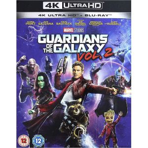 GUARDIANS OF THE GALAXY 2 [Imported] (4K UHD BLU-RAY + BLU-RAY)