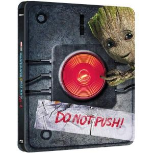 GUARDIANS OF THE GALAXY vol.2 3D - Limited Edition Steelbook [Imported] (BLU-RAY 3D + BLU-RAY)