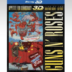 GUNS N' ROSES: APPETITE FOR DEMOCRACY 3D - LIVE AT THE HARD ROCK CASINO LAS VEGAS (BLU-RAY 3D/2D)