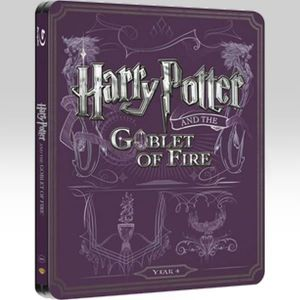 HARRY POTTER AND THE GOBLET OF FIRE Limited Edition Steelbook (BLU-RAY)
