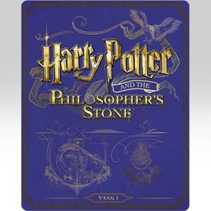 HARRY POTTER AND THE PHILOSOPHER'S STONE Limited Edition Steelbook (BLU-RAY)