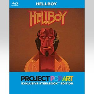 HELLBOY Director's Cut Pop Art Limited Edition Steelbook [Imported] (BLU-RAY)
