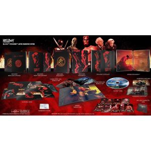 HELLBOY Limited Collector's Numbered Edition Steelbook + BOOKLET + CARDS (BLU-RAY)