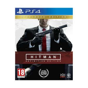 HITMAN - DEFINITIVE EDITION Day One Limited Steelbook Edition (PS4)