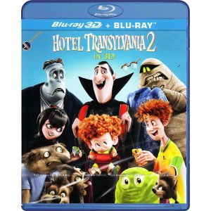 HOTEL TRANSYLVANIA 2 3D (BLU-RAY 3D + BLU-RAY) ***SONY EXCLUSIVE***