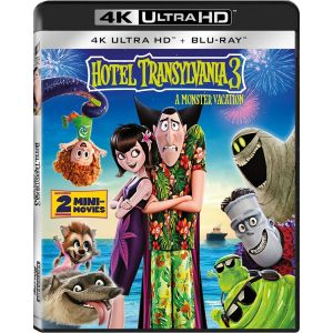 HOTEL TRANSYLVANIA 3: A MONSTER VACATION 4K+2D (4K UHD BLU-RAY + BLU-RAY 2D)