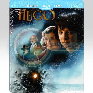 HUGO STEELBOOK Combo (BLU-RAY + DVD)