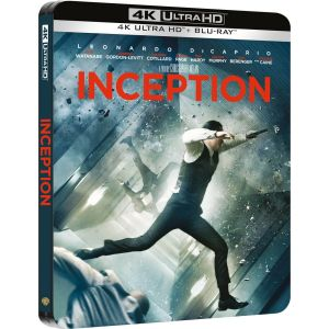 INCEPTION 4K+2D Limited Edition Steelbook ΑΠΟΚΛΕΙΣΤΙΚΟ (4K UHD BLU-RAY + BLU-RAY 2D + BLU-RAY BONUS)