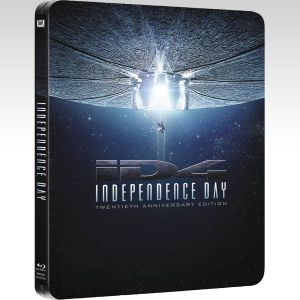 INDEPENDENCE DAY Extended [4K ReMASTERED] - ΗΜΕΡΑ ΑΝΕΞΑΡΤΗΣΙΑΣ Extended [4K ReMASTERED] 20th ANNIVERSARY Limited Edition Steelbook [Εισαγωγής ΜΕ ΕΛΛΗΝΙΚΟΥΣ ΥΠΟΤΙΤΛΟΥΣ] (2 BLU-RAYs)