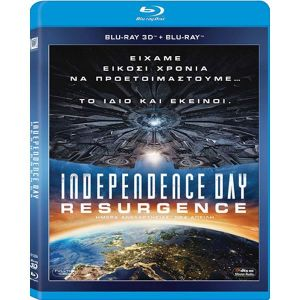 INDEPENDENCE DAY: RESURGENCE 3D (BLU-RAY 3D + BLU-RAY)