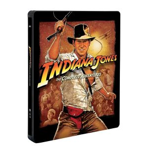INDIANA JONES: THE COMPLETE ADVENTURES Limited Edition Steelbook [Εισαγωγής ΧΩΡΙΣ ΕΛΛΗΝΙΚΟΥΣ ΥΠΟΤΙΤΛΟΥΣ] (5 BLU-RAYs)