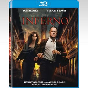 INFERNO (BLU-RAY) ***SONY EXCLUSIVE***