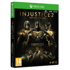INJUSTICE 2 - LEGENDARY EDITION Day One Limited Steelbook Edition (XBOX ONE)