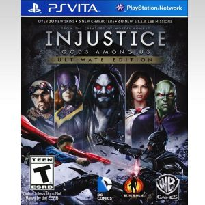 INJUSTICE GODS AMONG US (PS VITA)