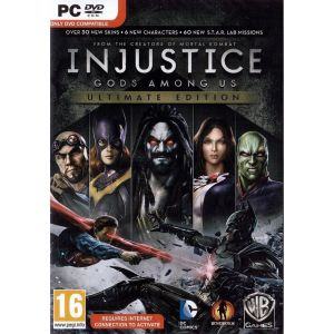 INJUSTICE GODS AMONG US - ULTIMATE EDITION (PC DVD)