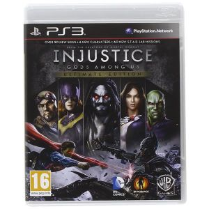 INJUSTICE GODS AMONG US - ULTIMATE EDITION (PS3)