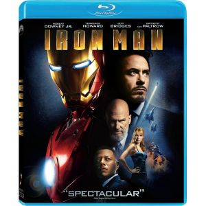 IRON MAN (BLU-RAY) ***MARVEL EXCLUSIVE***