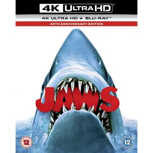 JAWS 4K [ΜΕ ΕΛΛΗΝΙΚΟΥΣ ΥΠΟΤΙΤΛΟΥΣ σε 4K] 45th Anniversary Edition (4K UHD BLU-RAY + BLU-RAY)