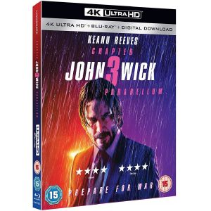 JOHN WICK: CHAPTER 3 PARABELLUM 4K+2D [Imported] (4K UHD BLU-RAY + BLU-RAY)