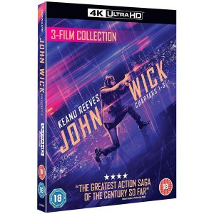 JOHN WICK Trilogy Box Set 4K+2D [Imported] (4K UHD BLU-RAY + BLU-RAY)