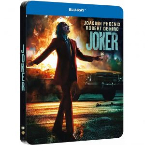 JOKER Limited Edition Steelbook IMAX Version [ΕΛΛΗΝΙΚΟ] (BLU-RAY)
