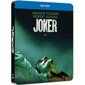 JOKER Limited Edition Steelbook TEASER Version ΑΠΟΚΛΕΙΣΤΙΚΟ (BLU-RAY)