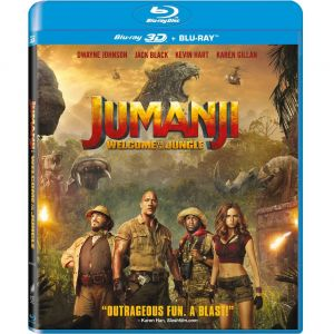 JUMANJI 2: WELCOME TO THE JUNGLE 3D+2D - JUMANJI 2: ΚΑΛΩΣ ΗΡΘΑΤΕ ΣΤΗ ΖΟΥΓΚΛΑ 3D+2D (BLU-RAY 3D + BLU-RAY 2D)