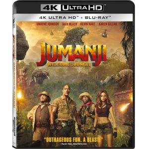 JUMANJI 2: WELCOME TO THE JUNGLE 4K+2D - JUMANJI 2: ΚΑΛΩΣ ΗΡΘΑΤΕ ΣΤΗ ΖΟΥΓΚΛΑ 4K+2D (4K UHD BLU-RAY + BLU-RAY 2D)