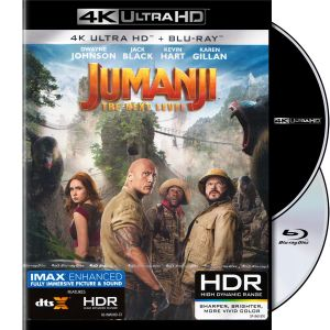 JUMANJI 3: THE NEXT LEVEL 4K+2D (4K UHD BLU-RAY + BLU-RAY 2D)
