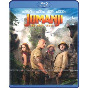 JUMANJI 3: THE NEXT LEVEL (BLU-RAY)