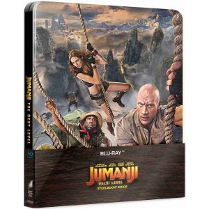 JUMANJI 3: THE NEXT LEVEL Limited Edition Steelbook (BLU-RAY)