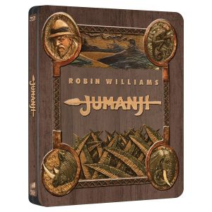 JUMANJI 4K+2D - ΤΖΟΥΜΑΝΤΖΙ 4K+2D 20th Anniversary Limited Edition Steelbook (4K UHD BLU-RAY + BLU-RAY 2D)