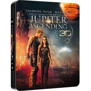 JUPITER ASCENDING 3D+2D Limited Collector's Edition FuturePak [Imported] (BLU-RAY 3D + BLU-RAY 2D)