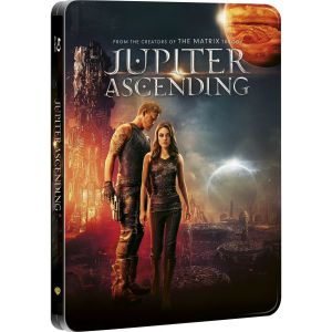JUPITER ASCENDING 3D+2D Limited Collector's Edition Steelbook [Imported] (BLU-RAY 3D + BLU-RAY 2D)