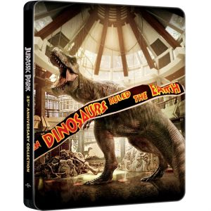 JURASSIC PARK 1-4 COLLECTION - 20th Anniversary Limited Edition Steelbook (4 BLU-RAY)