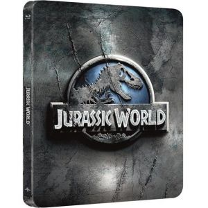JURASSIC WORLD 3D Limited Edition Steelbook [Imported] (BLU-RAY 3D + BLU-RAY)