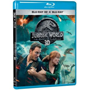 JURASSIC WORLD: FALLEN KINGDOM 3D (BLU-RAY 3D + BLU-RAY 2D)