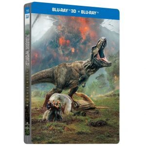 JURASSIC WORLD: FALLEN KINGDOM 3D Limited Edition Steelbook [Imported] (BLU-RAY 3D/2D)