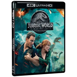 JURASSIC WORLD: FALLEN KINGDOM 4K+2D - JURASSIC WORLD: ΤΟ ΒΑΣΙΛΕΙΟ ΕΠΕΣΕ 4K+2D (4K UHD BLU-RAY + BLU-RAY 2D)