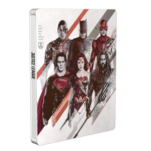 JUSTICE LEAGUE 2D Limited Edition Steelbook NEW VISUAL [Imported] (BLU-RAY)