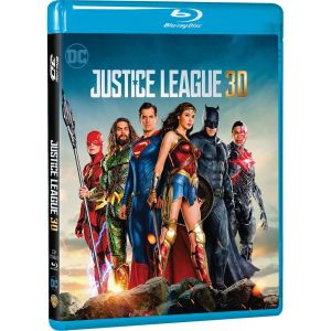 JUSTICE LEAGUE 3D+2D (BLU-RAY 3D + BLU-RAY 2D)