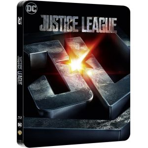 JUSTICE LEAGUE 3D+2D Limited Edition Steelbook [Imported] (BLU-RAY 3D + BLU-RAY 2D)