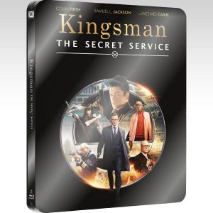 KINGSMAN: THE SECRET SERVICE Limited Collector's Edition Steelbook [Imported] (BLU-RAY)