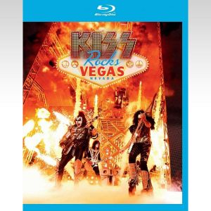 KISS: ROCKS VEGAS - LIVE AT THE HARD ROCK HOTEL (BLU-RAY)