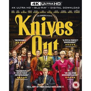 KNIVES OUT [Imported] (4K UHD BLU-RAY + BLU-RAY)